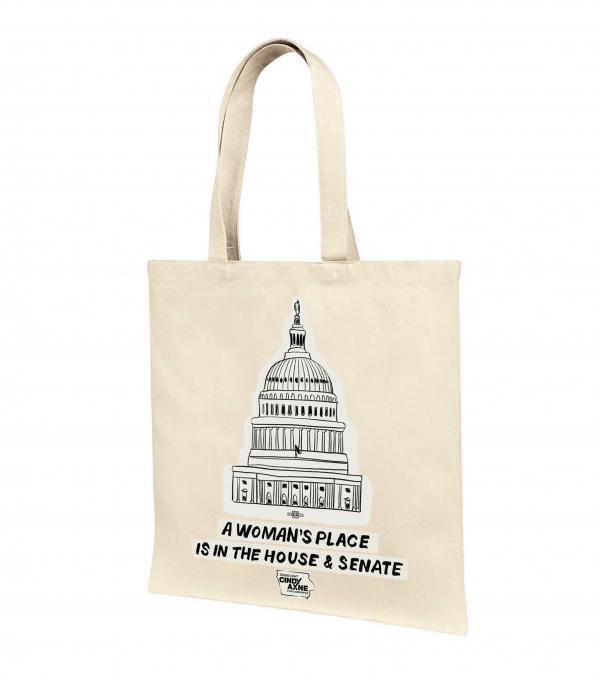 A Women's Place Tote Bag