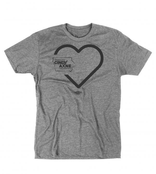 Heart Cindy Axne T-Shirt Front