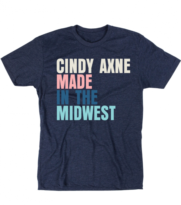 Made In The Midwest Blue T-Shirt