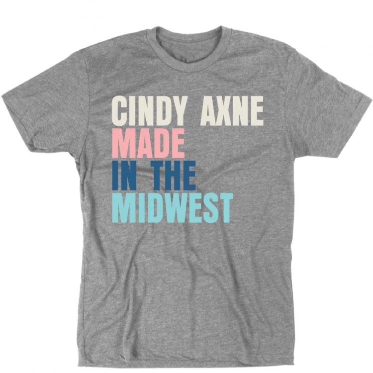 Made In The Midwest Gray T-Shirt